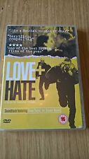 ORIGINAL R2 DVD - LOVE + HATE - MINT CONDITION