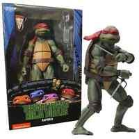 """NECA Teenage Mutant Ninja Turtles TMNT 1990 Movie Raphael 7"""" Action Figure New"""