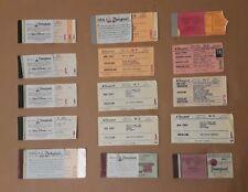 Vintage Disneyland Ticket Stub Booklet Lot