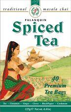 Spiced tea Masala Chai Tea bags Palanquin caffeinate black tea