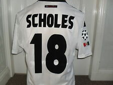 "Man U 1997 --99 Away shirt "" SCHOLES # 18 """