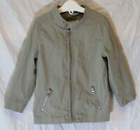 Boys River Island Light Grey Spring Summer Bomber Jacket Coat Age 2-3 Years