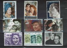 9 Royal Wedding and Jubilee, Silver Wedding and Birthday stamps