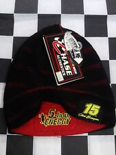 Clint Bowyer #15 reversible beanie NASCAR Cap Hat NEW red & black