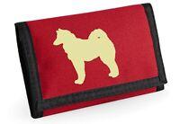 Norwegian Buhund Wallet with Buhund Dog Design Birthday Xmas Gift for Dog Lover