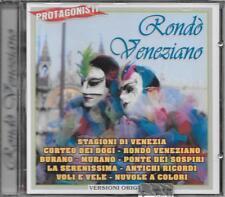 """RONDO' VENEZIANO - RARO CD FUORI CATALOGO CELOPHANATO """" PROTAGONISTI """""""