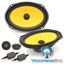 "Jl Audio C1-690 6""X9"" 120W Rms 2-Way Component Speakers Tweeters Crossovers New"