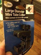 "COBRA pst006 GRANDE DIAMETRO Mini Tube Cutter NUOVO Rame / PVC 1/8 "" -1 -1 / 8"" (3-29mm)"