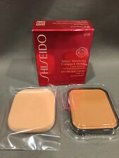 Nib Shiseido Sheer Matifying Compact Foundation Refill D10 Golden Brown Spf 21
