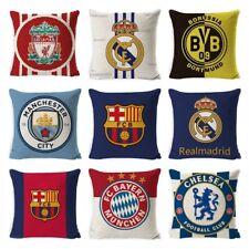Football Teams Pillowcase 45*45cm UEFA Champions Polyester Printed Throw Pillows