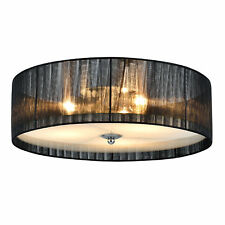 [lux.pro] Plafonnier E27 [12 cm x Ø40 cm] lustre suspension lampe de chambre