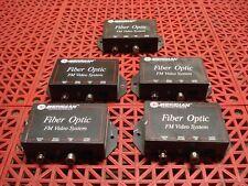 Lot of 6 Meridian Pt-140M-0 Fiber Optic Fm Video Module Single Transmitter Cctv