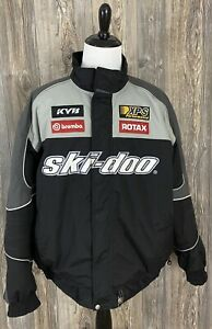 Ski-Doo BRP Snowmobile Jacket Men's 2XL Heavy Warm Winter 100% Nylon With Logo