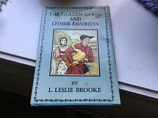 The Golden Goose And Other Favorites 1975? Hardcover Dust jacket L.Leslie Brooke