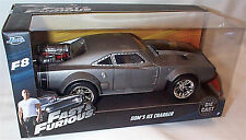 FAST & FURIOUS 8 DOM'S ICE CHARGER 1/24 SCALE DIECAST OPENING FEATURES by JADA