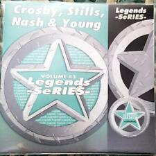 LEGENDS KARAOKE CDG CROSBY,STILLS,NASH & YOUNG OLDIES ROCK  #43 15 SONGS CD+G