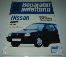 Reparaturanleitung Nissan Micra K10 / K 10 Vergaser + Einspritz Motor ab 1989!