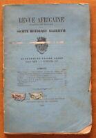 1897 - Revue Africaine - Société Historique Algérienne - N°227