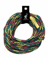 AIRHEAD 4 Rider Tube Tow Rope 9/16 inch x 60 ft 3-4 Riders w/Rope Keeper