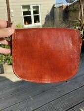 Small Vintage Leather Body Bag