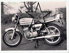 1980 Suzuki X7 GT 250 Motorbike Sports Original Period Vintage Press PHOTO