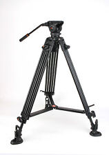 COMAN DX16AQ5 Aluminium Stativ mit Q5 Videokopf Tripod Video Neiger max 1,60m