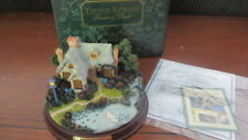 "New Thomas Kinkade Painter Of Light Lighted Cottage Coll ""Everett'S Cottage"""