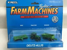 Deutz-Allis Micro Size Farm Vehicles 1/87 scale #2221
