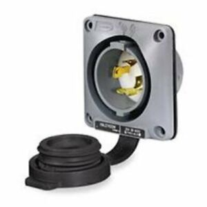 Hubbell 2715SW Industrial Watertight Safety Shroud, Locking Device, Twist-Lock