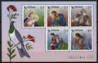 New Zealand NZ Christmas Stamps 2019 MNH Nativity Angels Baby Mary Jesus 5v M/S