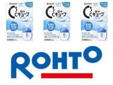 ROHTO C Cube Cool 13ml Eye Drops X 3 Refreshing Eye Wash Japan Free Ship