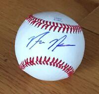 Nick Neidert Miami Marlins Seattle Mariners Autograph Signed Baseball