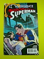 Convergence Superman #2 - 1st Appearance of Jonathan Kent (Superboy) - NM - DC