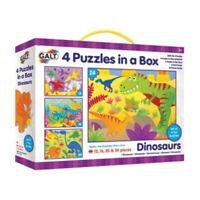 Galt Dinosaurs Puzzles 4 x 12, 16, 20 and 24pcs 3+