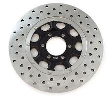 NEW Stainless Steel Drilled Brake Rotor - Honda CB450K CB500 CB550 45120-374-700