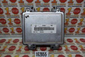 08-10 CHEVROLET MALIBU ENGINE COMPUTER MODULE ECU ECM 12625348 12607096 YRHF OEM