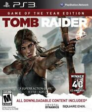 Tomb Raider Game of the Year Edition PS3 Lara Croft Sony PlayStation 3 Brand New