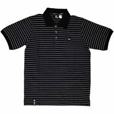 Lrg Core Collection Striped Polo Shirt Black