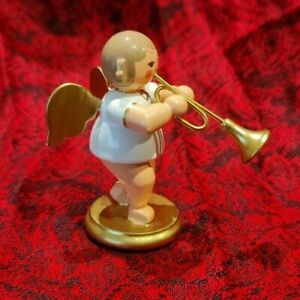 Miniatur Engel w/g Trompete 31 352 Christian Ulbricht