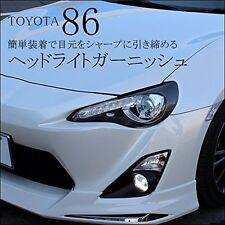 Toyota 86 ZN6 Head light garnish (carbon tone) eye line Dress Up from Japan