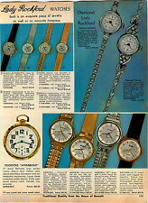 1969 ADVERTISEMENT Watches Rockford Winnebago Pocket Diamond Marlene Victoria