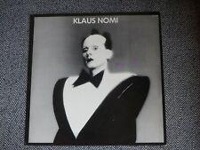 KLAUS NOMI - Klaus Nomi 1981 - LP / 33T