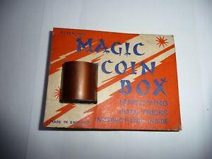 Vintage Peter Pan Series Magic Coin Box Magic Trick