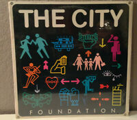 "THE CITY - Foundation - 12"" Vinyl Record LP - EX"