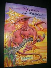 PAINTING DRAGONS in WATERCOLOUR Fantasy ART Techniques Designs SEARCH PRESS BOOK