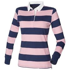 Collared Fitted Casual Striped Tops & Shirts for Women