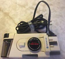Vtg Sanyo Travel Butler Portable Iron W/ Spray Feature Dual Voltage 120V (A201N)
