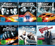 The Fast and the Furious 1 - 6 (Paul Walker)                 | Blu-ray | 052/053