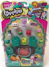 Shopkins SEASON 3 12 Pack Special Edition POLISHED PEARL Inside! New