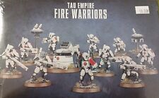 Warhammer 40K TAU EMPIRE FIRE CASTE WARRIORS Squad & Drones, New